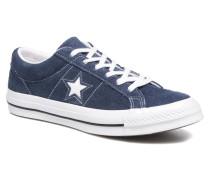 One Star OG Suede Ox Sneaker in blau