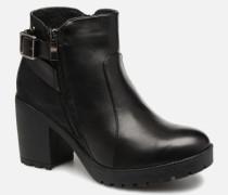 48608 Stiefeletten & Boots in schwarz
