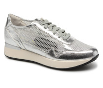 Face 9 Sneaker in silber