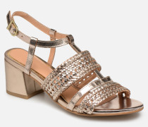 49070 Sandalen in goldinbronze