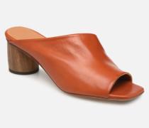 ALBARCA Clogs & Pantoletten in orange