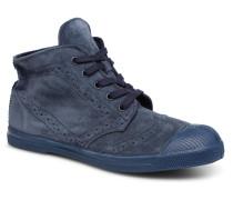 Derbys Suede Sneaker in blau