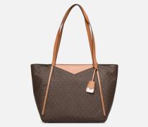 Whitney Cabas LG TZ Tote Handtasche in braun