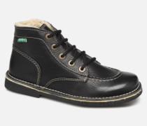 Legendiknew Schnürschuhe in schwarz
