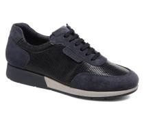 Zip Off Sneaker in blau