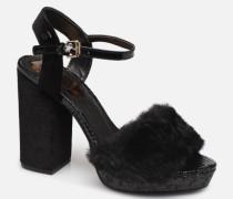 42117 Sandalen in schwarz