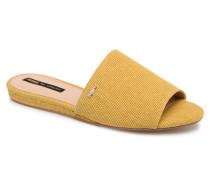 Doran Clogs & Pantoletten in gelb