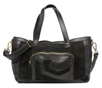 Krissa Leather Daily Bag Handtasche in schwarz