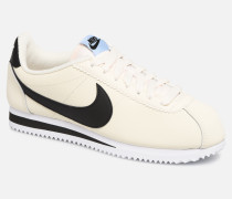 new arrival f01c8 ec277 Wmns Classic Cortez Leather Sneaker in weiß. Nike