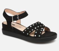 57940 Sandalen in schwarz