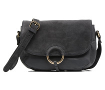Joline Leather Crossbody Handtasche in grau