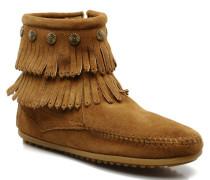 DOUBLE FRINGE BT Stiefeletten & Boots in braun