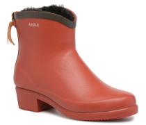Ms Jul Bot Fur Stiefeletten & Boots in rot