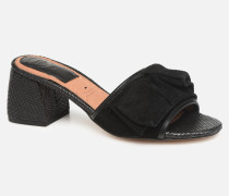 Kelcel Clogs & Pantoletten in schwarz