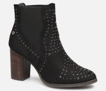49482 Stiefeletten & Boots in schwarz