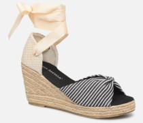 Vmnicole Wedge Sandal Espadrilles in schwarz