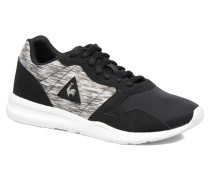 LCS R600 Jacquart Sneaker in schwarz