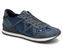 Astro glitter Sneaker in blau