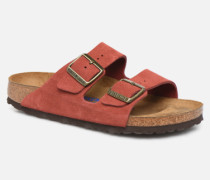 Arizona Cuir Suede Soft Footbed W Clogs & Pantoletten in rosa