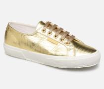 O 2750 Cotmetembossedcocco W Sneaker in goldinbronze