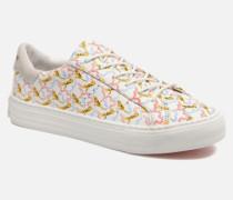 Arcade sneaker pink nappa print tiger Sneaker in weiß
