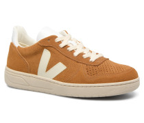 V10 W Sneaker in braun