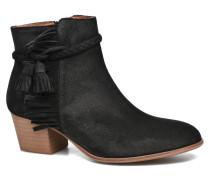 Secret Aras Croute vintage Stiefeletten & Boots in schwarz