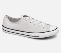 Chuck Taylor All Star Dainty Canvas Ox Sneaker in grau