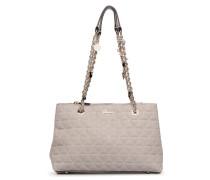 Fleur Girlfriend Satchel Handtasche in beige