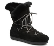 Far Side HIigh Shearling Sportschuhe in schwarz