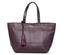 CABAS PARISIEN S Cuir grainé Handtasche in lila