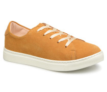 Past plume Sneaker in gelb