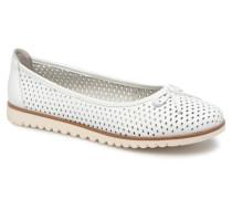 22121 Ballerinas in weiß