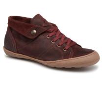 Gaetane Crt Sneaker in weinrot