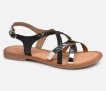 ETHY Sandalen in schwarz