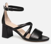 MAY PUFF L Sandalen in schwarz