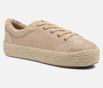 STATICC Sneaker in goldinbronze