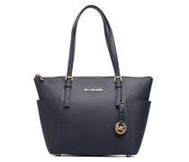 JET SET ITEM EW TZ Tote Handtasche in blau