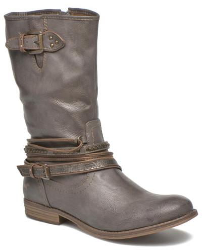 Ausverkauf Mustang Damen Mupe Stiefeletten & Boots in grau Auslass Erstaunlicher Preis Verkauf Versorgung Spielraum Erstaunlicher Preis E34KWB