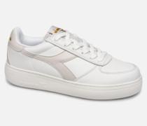 B.Elite Wide Sneaker in weiß
