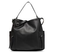 Ia Shoulder Bag Handtasche in schwarz