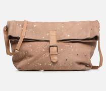 BRENDA LEATHER CROSSBODY Handtasche in goldinbronze