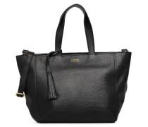 Cabas S Zippé Parisien Handtasche in schwarz