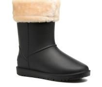 Hoodie Stiefeletten & Boots in schwarz