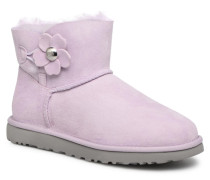 Mini Bailey Button Poppy Stiefel in rosa