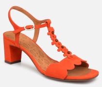 Lonza Sandalen in orange