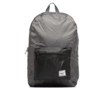 Packable Daypack Rucksäcke für Taschen in grau