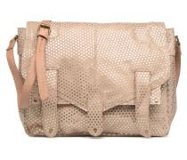 Joy Leather Bag Handtasche in beige