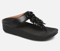 Rumba Clogs & Pantoletten in schwarz