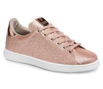 Deportivo Glitter Sneaker in rosa